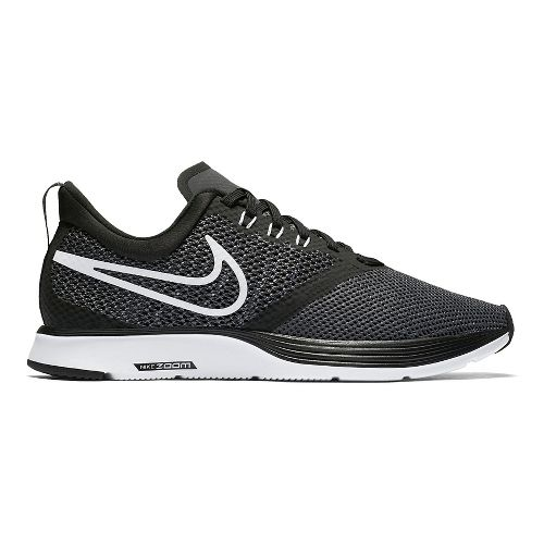Womens Nike Zoom Strike Running Shoe - Black/White 11