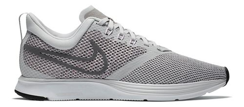 Womens Nike Zoom Strike Running Shoe - Light Grey 7