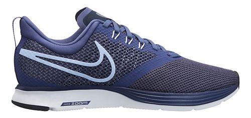 Womens Nike Zoom Strike Running Shoe - Navy 7