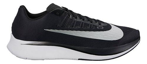 Mens Nike Zoom Fly Running Shoe - Black/White 12.5