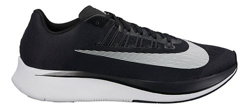 Mens Nike Zoom Fly Running Shoe - Black/White 9