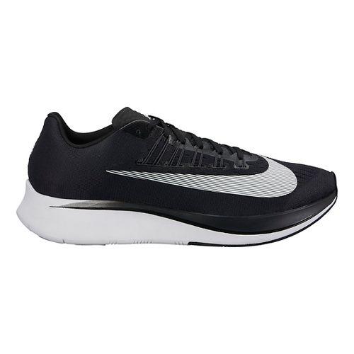 Mens Nike Zoom Fly Running Shoe - Black/White 10.5