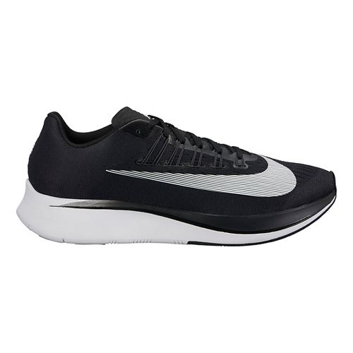 Mens Nike Zoom Fly Running Shoe - Black/White 13