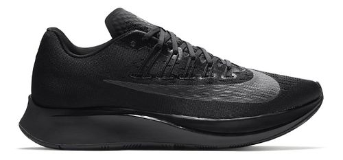 Mens Nike Zoom Fly Running Shoe - Black/Black 10.5