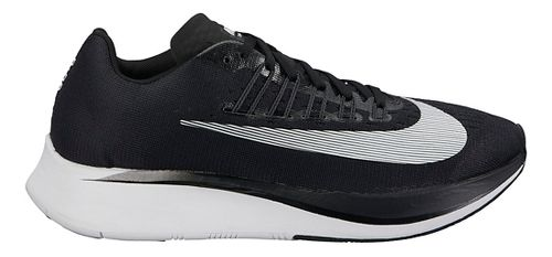 Womens Nike Zoom Fly Running Shoe - Black/White 9.5