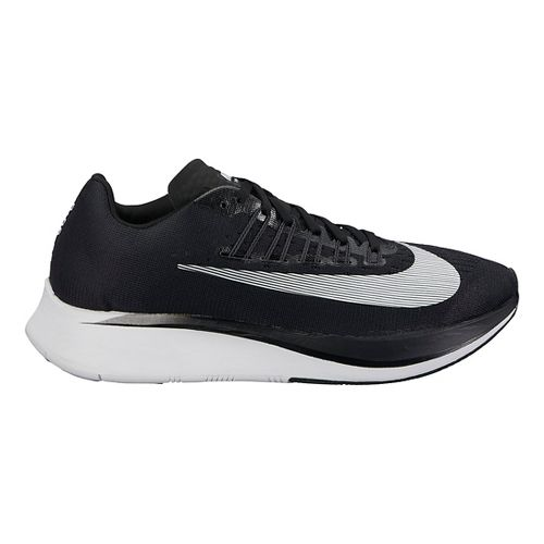 Womens Nike Zoom Fly Running Shoe - Black/White 9