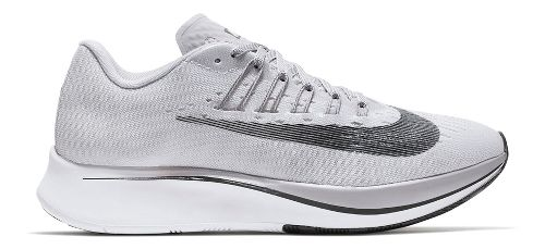 Womens Nike Zoom Fly Running Shoe - Grey 6.5
