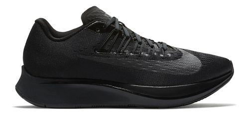 Womens Nike Zoom Fly Running Shoe - Black/Black 10