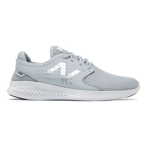 Womens New Balance Coast v3 Running Shoe - Light Cyclone/White 8.5