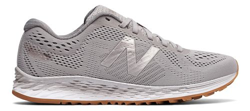 Womens New Balance Fresh Foam Arishi Running Shoe - Grey/Metallic 6