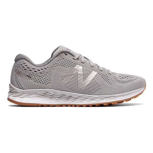 Womens New Balance Fresh Foam Arishi Running Shoe - Grey/Metallic 7.5