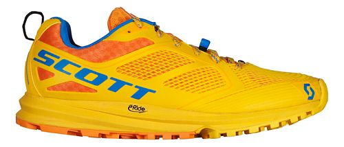 Mens Scott Kinabalu Enduro Trail Running Shoe - Yellow/Orange 13