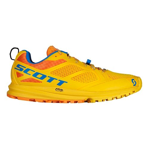 Mens Scott Kinabalu Enduro Trail Running Shoe - Yellow/Orange 10