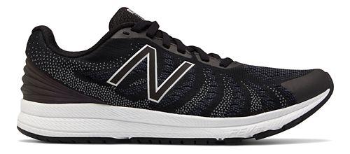 Womens New Balance Rush v3 Running Shoe - Black/White 10