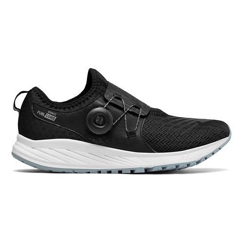 Womens New Balance Sonic v1 Running Shoe - Black/Silver 11