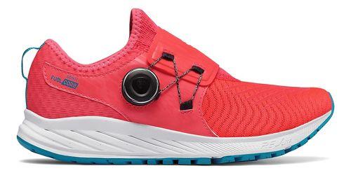 Womens New Balance Sonic v1 Running Shoe - Coral/White/Blue 11