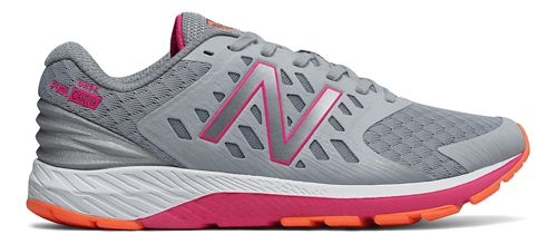 Womens New Balance Urge v2 Running Shoe - Silver/Pink 7.5