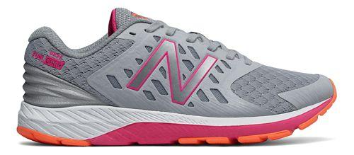 Womens New Balance Urge v2 Running Shoe - Silver/Pink 9.5