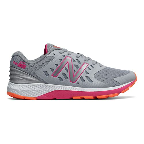 Womens New Balance Urge v2 Running Shoe - Silver/Pink 11