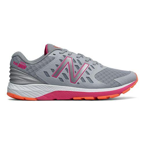 Womens New Balance Urge v2 Running Shoe - Silver/Pink 8.5