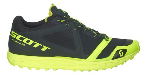 Mens Scott Kinabalu RC Trail Running Shoe - Black/Yellow 12.5