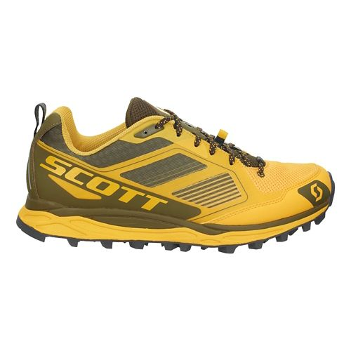 Mens Scott Kinabalu Supertrac Trail Running Shoe - Yellow/Black 8