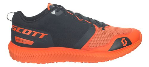 Mens Scott Palani Running Shoe - Black/Orange 9