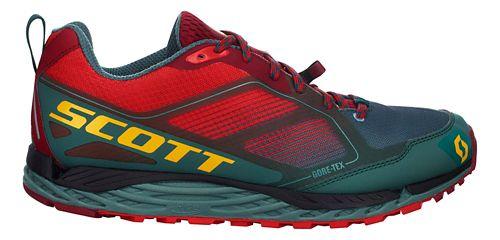 Mens Scott T2 Kinabalu GORE-TEX 2.0 Trail Running Shoe - Red/Grey 11.5