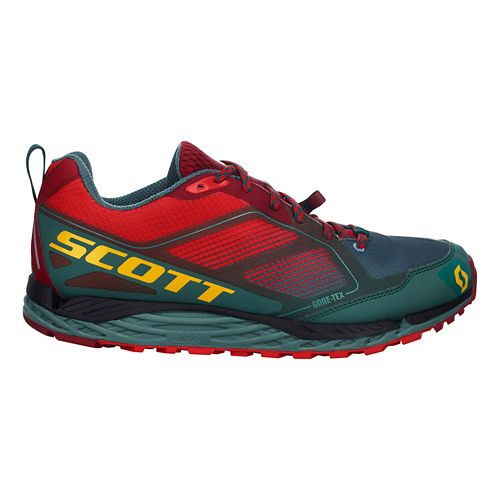 Mens Scott T2 Kinabalu GORE-TEX 2.0 Trail Running Shoe - Red/Grey 11.5