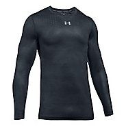 Mens Under Armour HeatGear CoolSwitch Long Sleeve Technical Tops - Anthracite XL