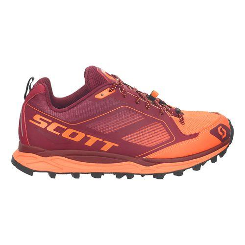 Womens Scott Kinabalu Supertrac Trail Running Shoe - Purple/Orange 10