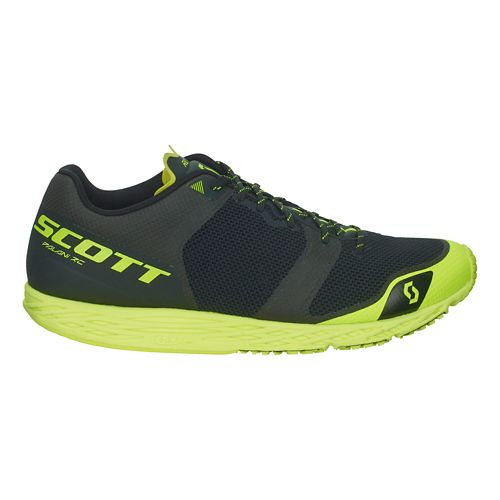 Womens Scott Palani RC Running Shoe - Black/Yellow 8