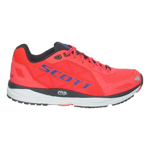 Womens Scott Palani Trainer Running Shoe - Red 7