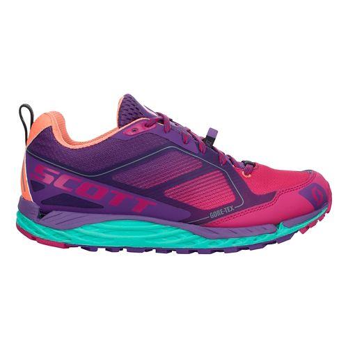 Womens Scott T2 Kinabalu GORE-TEX 2.0 Trail Running Shoe - Purple/Pink 10