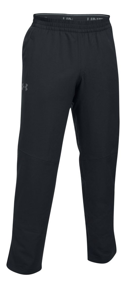 Mens Under Armour Insulated Warm-Up Pants - Black M