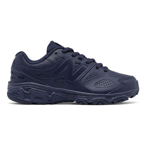 New Balance 680v3 Running Shoe - Navy 6Y