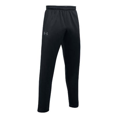 Mens Under Armour Fleece LW Pants - Black M