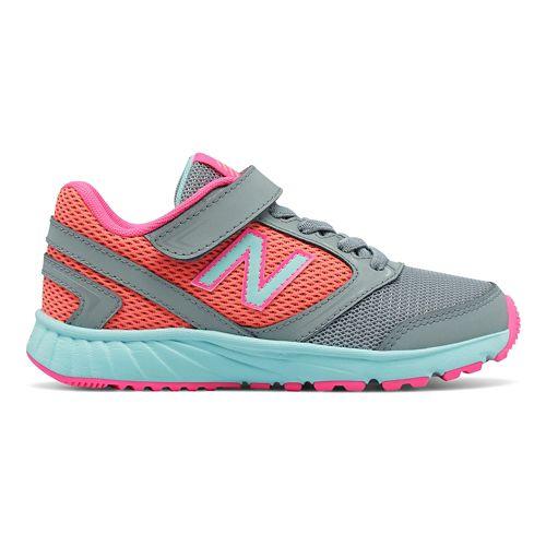 New Balance 455v1 Running Shoe - Grey/Pink 7Y