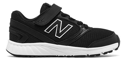 New Balance 455v1 Running Shoe - Black/White 4Y