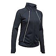 Womens Under Armour 3G Reactor ColdGear Run Storm Running Jackets - Black S