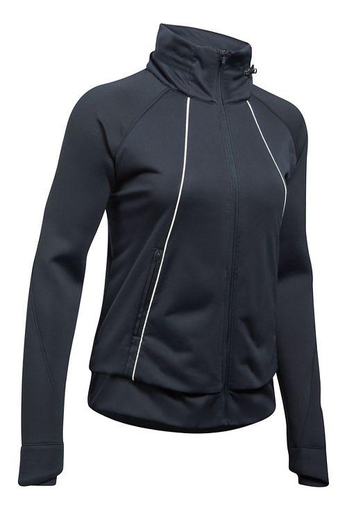 Womens Under Armour 3G Reactor ColdGear Run Storm Running Jackets - Black L