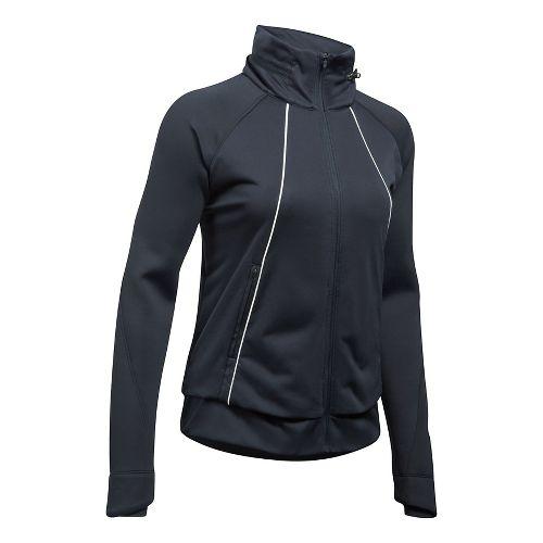 Womens Under Armour 3G Reactor ColdGear Run Storm Running Jackets - Black XL
