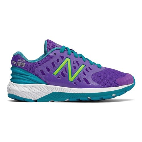 New Balance Urge v2 Running Shoe - Purple/Teal 3Y