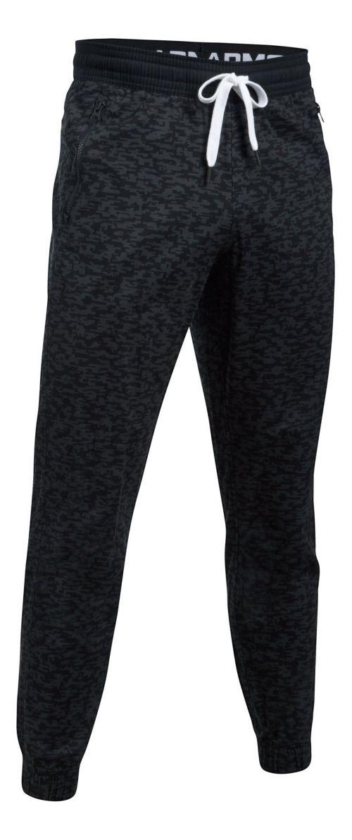 Mens Under Armour Performance Chino Jogger Pants - Black 4XL