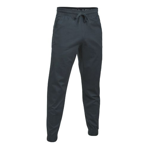 Mens Under Armour Performance Chino Jogger Pants - Anthracite M
