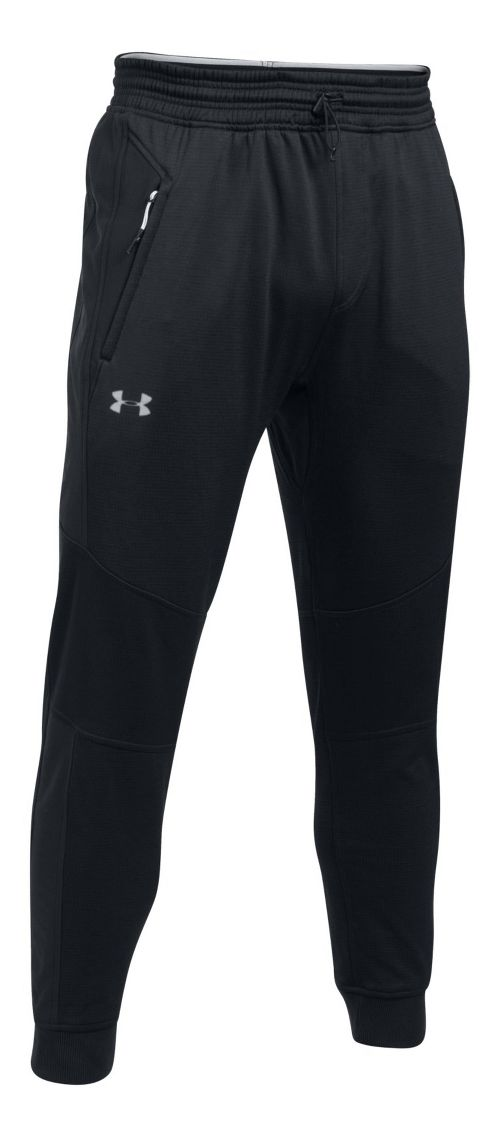 Mens Under Armour Reactor Tapered Pants - Black XXL