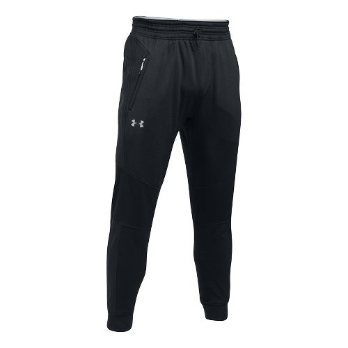Mens Under Armour Reactor Tapered Pants - Black L