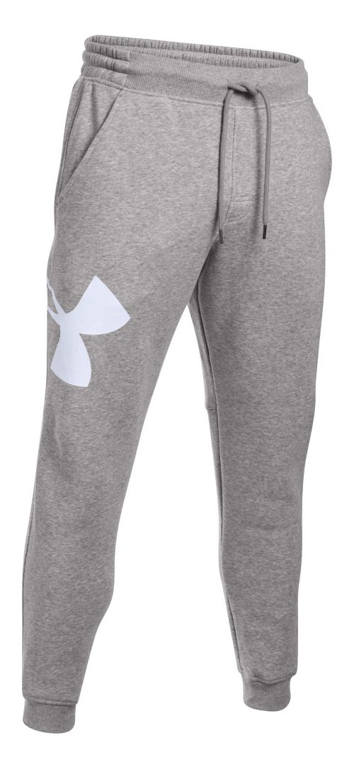 Mens Under Armour Rival Exploded Logo Jogger Pants - Black S