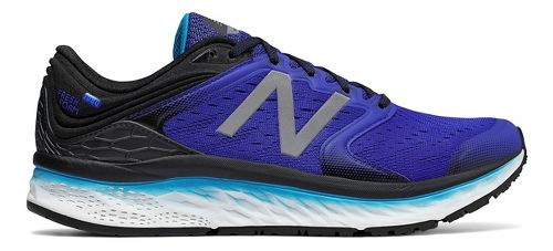 Mens New Balance Fresh Foam 1080v8 Running Shoe - Blue/Black 8.5