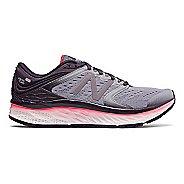 Womens New Balance Fresh Foam 1080v8 Running Shoe - Elderberry/Coral 6.5